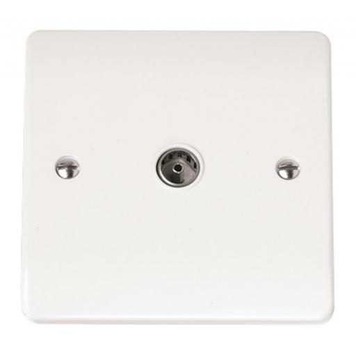 Single Coaxial Socket Outlet