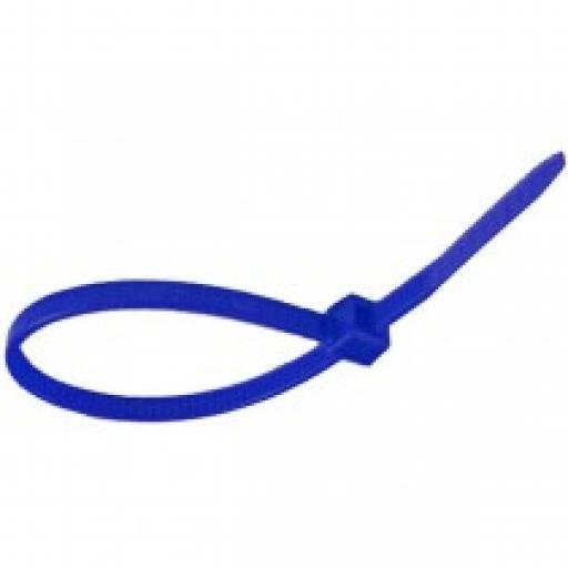 Cable Ties - 200mm x 4.8mm - Blue (Each)