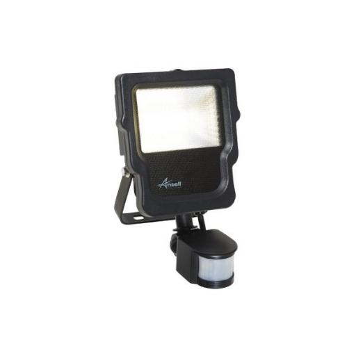 10W Calinor 4000K Polycarbonate LED Floodlight c/w PIR