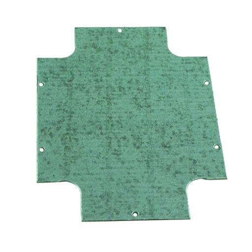 Steel Mounting Plate for Plastic Enclosure - (320x240mm)
