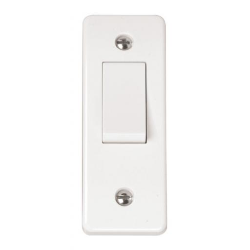 10AX 1 Gang 2 Way Architrave Switch
