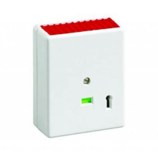 Single Push Panic Button, White