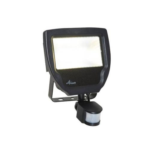 30W Calinor 4000K Polycarbonate LED Floodlight c/w PIR