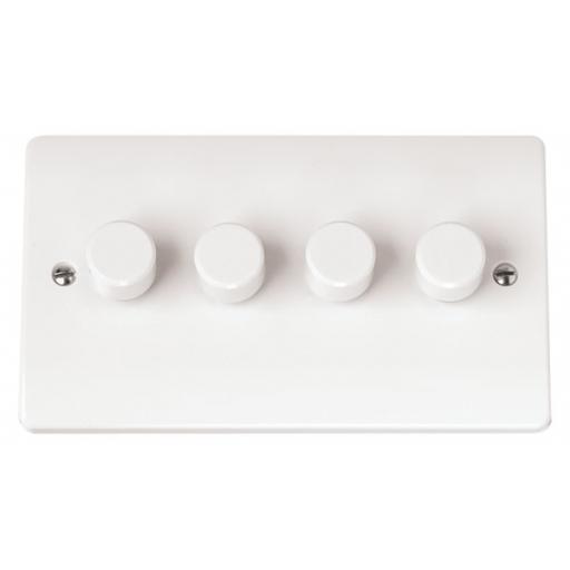 4 Gang 2 Way 250Va Dimmer Switch