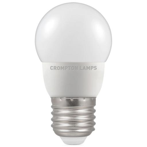 5.5W ES (E27) LED Golf Ball - Cool White 4000k Dimmable