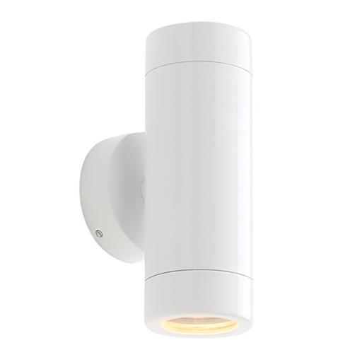 Odyssey 2lt Wall IP44 35W - Gloss White