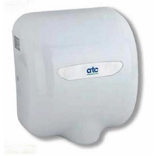 ATC Cheetah Hand Dryer White Aliminium Alloy 1400w