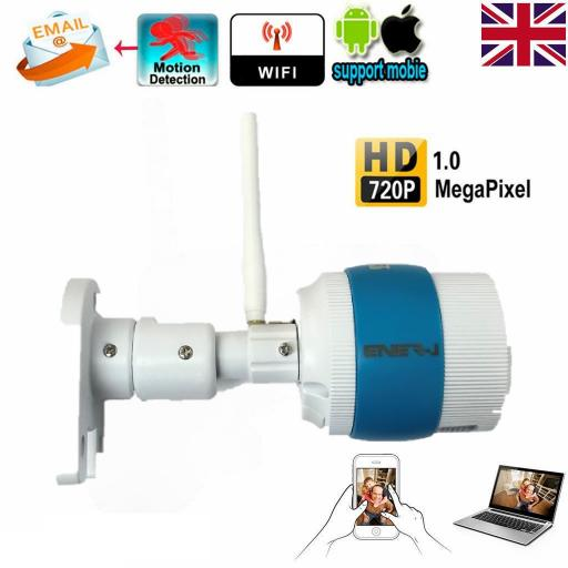 Outdoor Wireless WiFi IP Camera