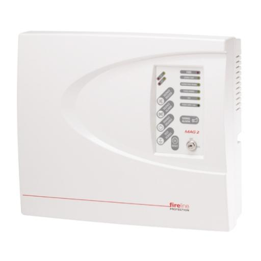 4-Zone ABS Fire Alarm Panel