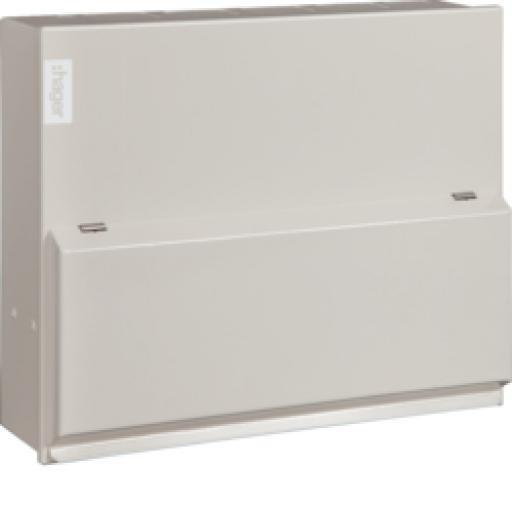 Hager 6 Way Split Load 3+3 100A Switch 2*63A 30mA RCCB
