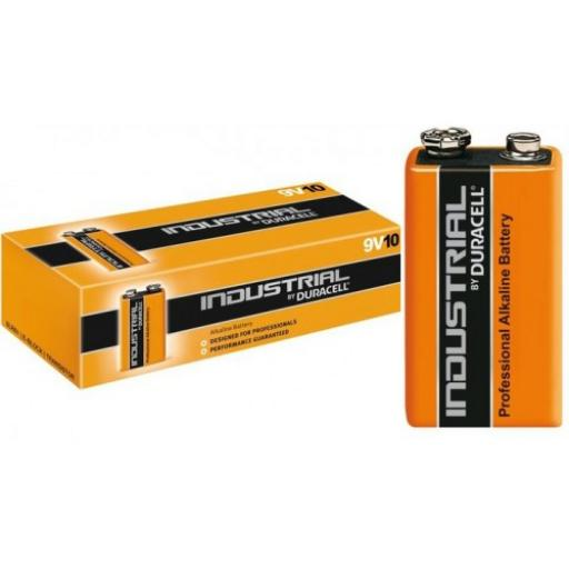 Duracell Industrial Batteries - 9v
