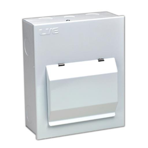Live 6 Way (100A MS) Metal Clad Consumer Unit