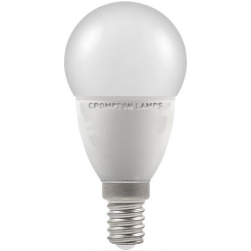5.5W SES (E14) LED Golf Ball - Cool White 4000k