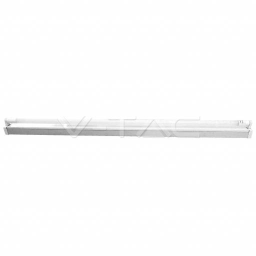 4ft Single Batten Fitting c/w LED Tube