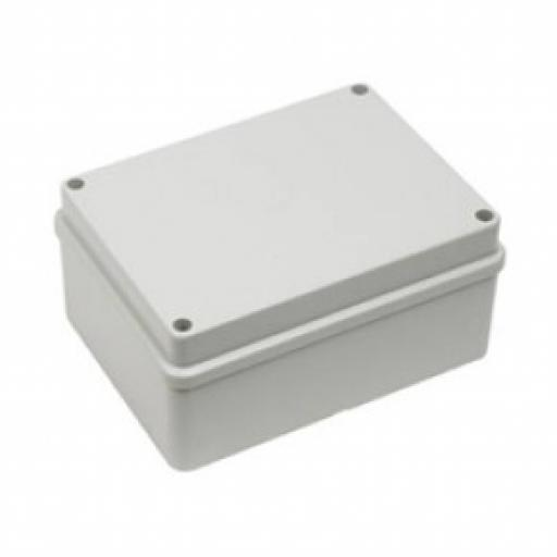 Grey Plastic Junction Box - IP56 (120x80x50 mm)