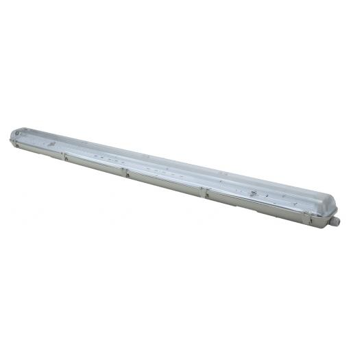 4ft Twin Non Corrosive (IP65) Batten Fitting for LED Tubes