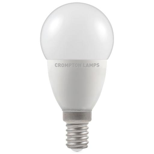 5.5W SES (E14) LED Golf Ball - Cool White 4000k Dimmable
