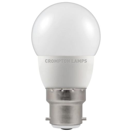 5.5W BC (B22d) LED Golf Ball - Cool White 4000k Dimmable