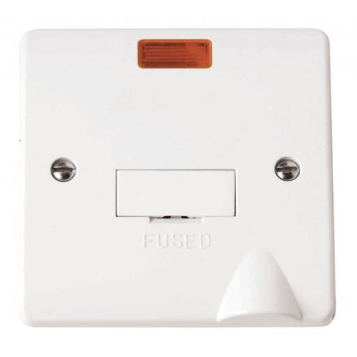 13A Fused Connection Unit With Neon