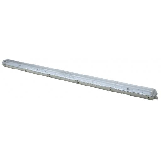 5ft Twin Non Corrosive (IP65) Batten Fitting for LED Tubes