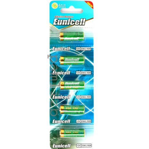 Eunicell A23 (GP23A) 12V Alkaline Batteries