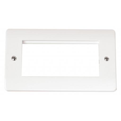 Double Plate (Quad Media Module Aperture)