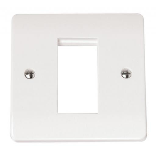 Single Plate (Single Media Module Aperture)