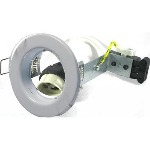 Pressed Steel Downlight GU10 - White