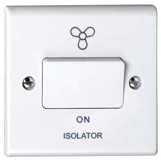 10A 3 Pole Fan Isolator Switch