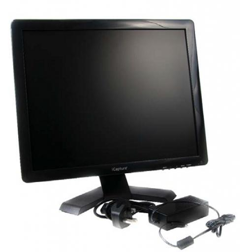 "21"" LCD Monitor w/ VGA Connector And Lead"