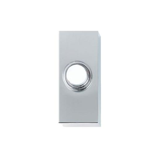 Friedland Luna Bell Push Button - Chrome