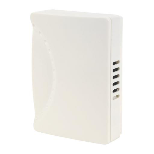 Byron Wired Wall-Mounted Doorbell Chime White