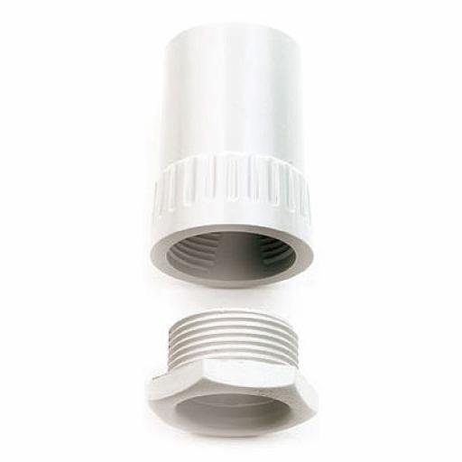 25mm Female Adaptors White