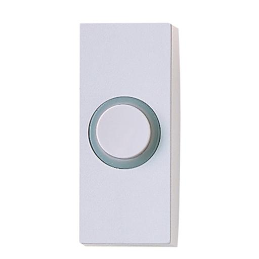 Friedland Lightspot Illuminated Door Bell Push - White