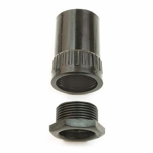 25mm Female Adaptors Black