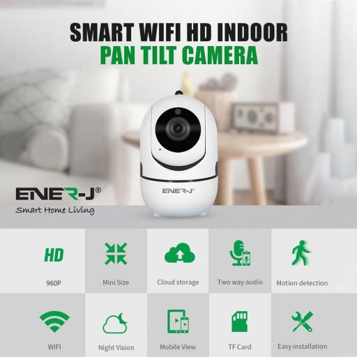 Indoor Wireless IP Camera Pan/Tilt 360°