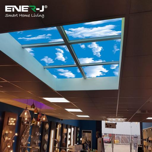 40W 2D SKY Design Ceiling LED Panel 600x600, W/ Driver