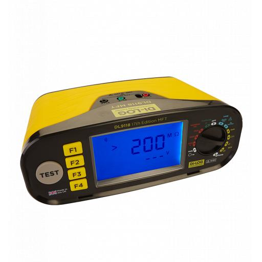18th Edition Advanced Multi Function Tester