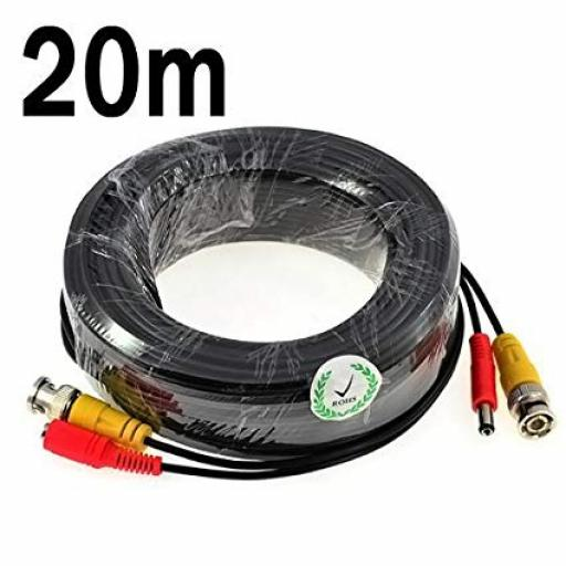 CCTV Extension Cable, Video and Power
