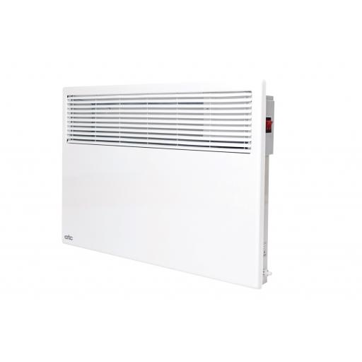 1500W ATC Toledo Portable Panel Heater w/ Analogue Timer