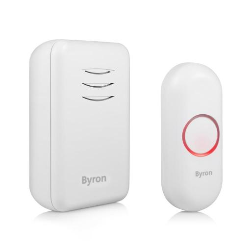 Byron Wireless Doorbell Kit – Battery Powered