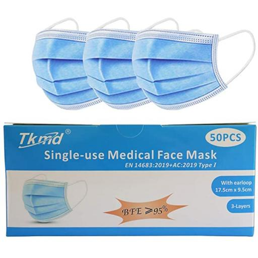 Single Use Medical Face Mask (Box of 50)